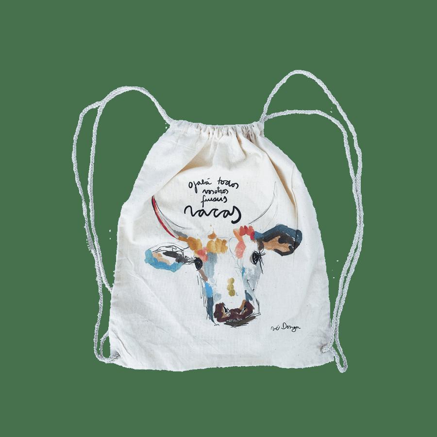 Tote Bags Mochila Vaca Color
