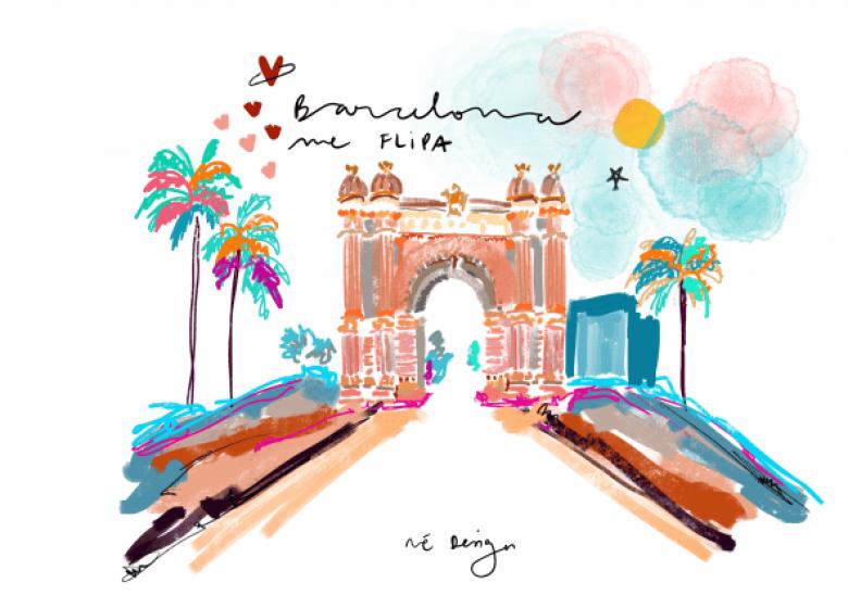 Barcelona y los ojos de Hygge Brand