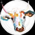 logo vaca vedesignart