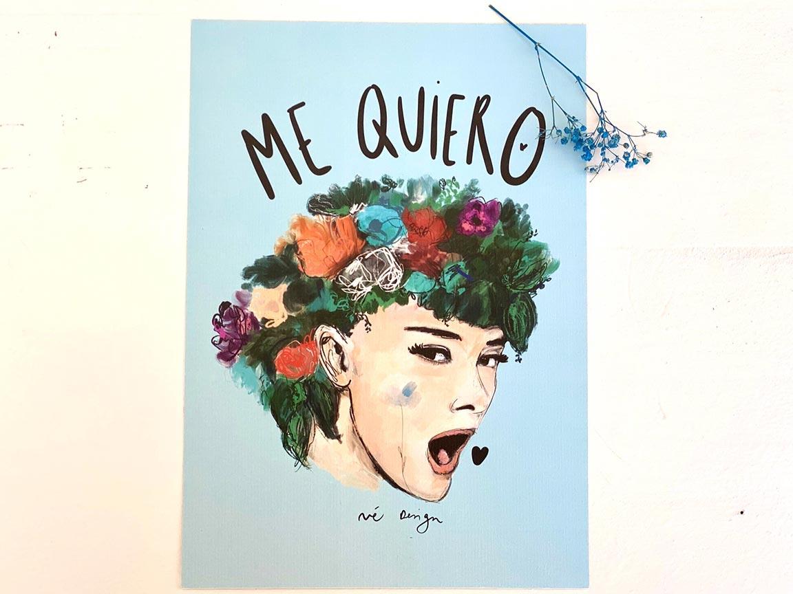 Lámina Decorativa Mujeres Me quiero-002