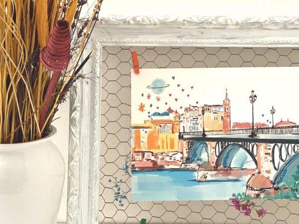 Lámina Decorativa Sevilla Puente de Triana-004