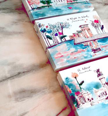 postales turismo vedesignart ciudades