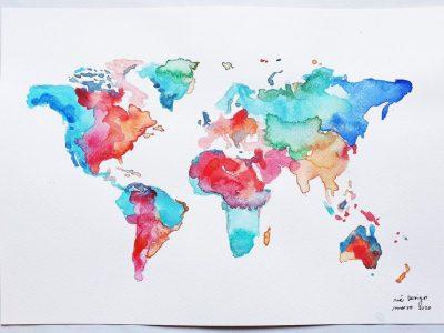 mapamundi colores